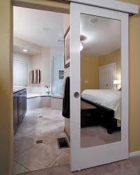 bathroom door ideas wall mounted sliding door reflects genius design idea hawaii for