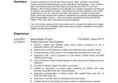 Testing Sample Resumes For Manual Testing by Download Interior Design Engineer Sample Resume