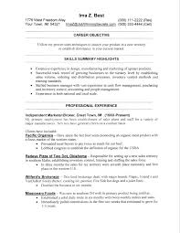 Highlights On A Resume Layout Of A Resume 9 You Can Write Whatever You Want And Even Will