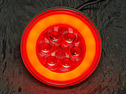 4 inch round led lights glolight led tail light 4 inch round