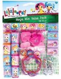 lalaloopsy party supplies 48 mega mix value pack lalaloopsy party supplies bag fillers