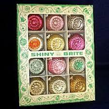 best vtg indent poland fantasia glass ornaments shiny brite