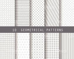 10 simple geometric patterns 1 stock vector art 527239129 istock