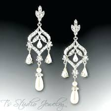 and pearl chandelier and pearl chandelier earrings pickasound co