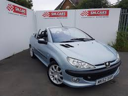 pejo araba used peugeot 206 convertible for sale motors co uk