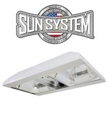 Light Fixture Reflector by Sun System Grow Beast De Cmh Dual Reflector Double Ended Ceramic
