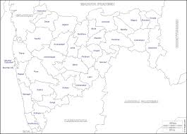 India Political Blank Printable Map by Maharashtra Free Map Free Blank Map Free Outline Map Free Base