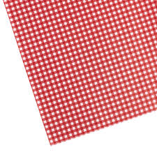 gingham wrapping paper gingham waxed tissue the container store