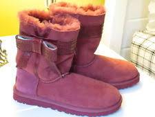 s ugg australia josette boots ugg australia womens josette boots 1003174 sangria 5 ebay