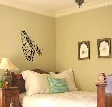 Girls Bedroom Horse Decor Horse Decal Mustang Wall Sticker Girls Bedroom Decal Teen