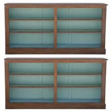 Oak Bookcases For Sale Black Cerused Oak Bookcase For Sale At 1stdibs