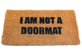 Doormat Leave Are You A Doormat Or A Footwasher