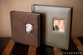 leather wedding photo album rochester mn wedding photographer sharpe photography