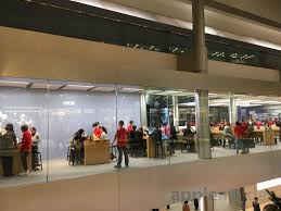 expansion to new third floor nearly complete at apple store in