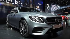 mercedes benz 2016 2017 mercedes benz e class grows larger and goes high tech