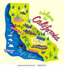 california map california road map stock images royalty free images vectors
