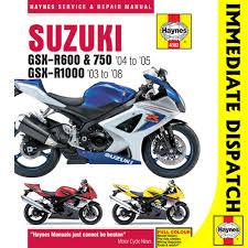 2004 suzuki gsxr 750 workshop service repair manual 50641 28