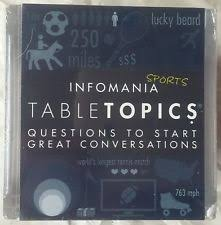 Table Topics Game by Table Topics Happiness Ebay