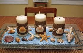 composizione di candele centrotavola a tema marino foto 10 39 matrimonio pourfemme
