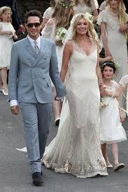 city wedding dress kate moss wedding dress revealed she looks radiant in veil