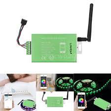 led strip light controller lixada wireless receiver 30a mini remote controller for rgb led