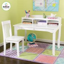 Girls White Desk With Hutch by Avalon Desk With Hutch U0026 Chair White Desks Room Ideas And Room