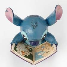 jim shore disney stitch with story book giftcollector