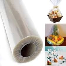 cellophane gift wrap 40 inch clear cellophane wrap roll party gift wrap christmas