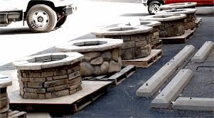 Square Fire Pit Kit by 42