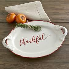 ceramic platter birch thankful serving platter reviews wayfair