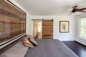 Bedroom Barn Door Bedroom Barn Door Closet Door Bedroom Contemporary With Gray