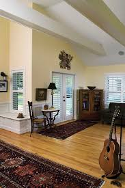 Plantation Shutters On Sliding Patio Doors by Plantation Shutters For Sliding Glass Doors Living Room Craftsman