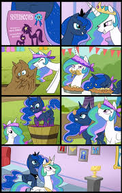 Princess Celestia Meme - sisterhoof social celestia and luna commissioned by tan575 on
