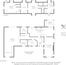 bungalow floor plans uk 4 bedroom detached bungalow for sale in cottage farm barnet en5