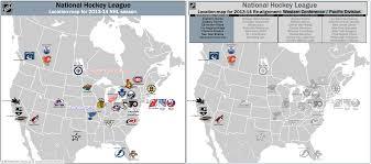 Nba Divisions Map Hockey Billsportsmaps Com