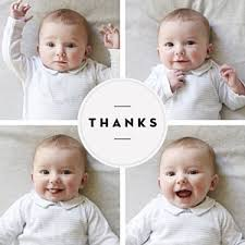 baby thank you cards personalised baby thank you cards from 85p rosemood free sles