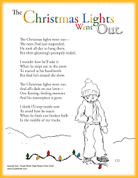 Poem About Halloween Fun Children U0027s Christmas Poem About Christmas Lights Great For