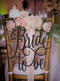bridal shower chair to be chair sign bridal shower sign bridal shower gift