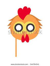 bird carnival mask vector illustration stock vector 544764541
