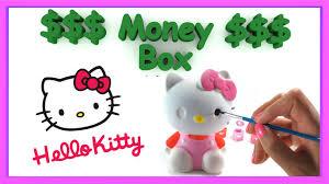 Tirelire Hello Kitty by Diy Hello Kitty Create Your Own Money Box Youtube