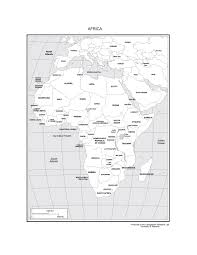africa map black and white maps of africa
