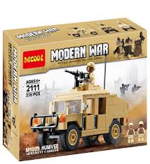 modern army vehicles decool 2111 baby toy modern war u s military m1025 humvee hmmwv