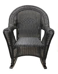 Rocking Chair Patio Furniture by Lb International Wicker Rocking Chair Patio Furniture U0026 Reviews