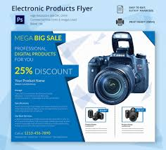 electronic products flyer corporate templates pinterest