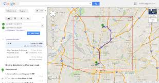 Quick Maps Driving Directions On Google Map World Maps With Without Ambear Me