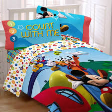 Mickey Mouse Clubhouse Crib Bedding Mickey Mouse Comforter Set For Toddler Bed Crib Bedding Sets