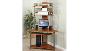 Corner Computer Tower Desk Best Desk For Small Space Studio Rta A Tower Corner Wood Computer