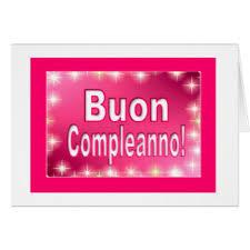 happy birthday in italian cards greeting u0026 photo cards zazzle