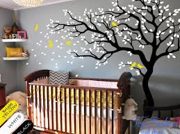 Vinyl Tree Wall Decals For Nursery by Wall Wall Decals And Stickers For Nursery Room Art Decor
