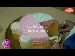 Baby Carriage Cake Part 1 Youtube Cakes Pinterest Baby